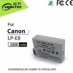 цифровая камера 1800 Мач аккумулятор для Canon Lp-E8 Lpe8