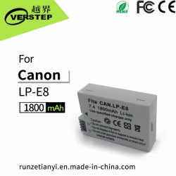 Batterie der Digitalkamera-1800mAh für Canon Lp-E8 Lpe8
