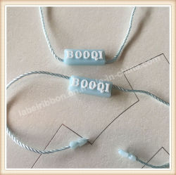 Pendure as tags string de plástico Gancho para etiquetas de Vedação