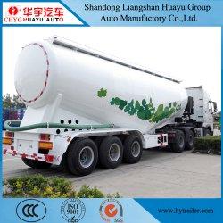 Eje 3 30/35/40/45m3 de depósito de cemento semi remolque camión portador de cemento a granel