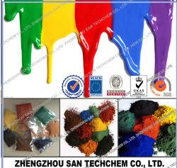 Dans le pigment Rouge Jaune Bleu Vert Noir Oxyde de fer pour le ciment