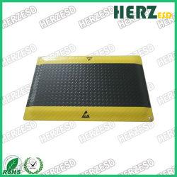 Plaque de caoutchouc antidérapant Diamond Flooring ESD Anti-Fatigue tapis en caoutchouc