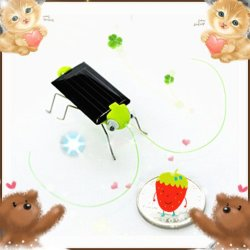 Детский подарок интеллектуальной DIY игрушка солнечной энергии нашествия насекомых Grasshopper №054-6