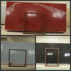 Rood/de Kunstmatige Plak van het Kwarts Black/White voor Countertop/Tile
