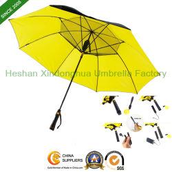 Ombrello freddo esterno innovatore del ventilatore della pioggia di Sun del nuovo regalo promozionale del punto con il caricatore del telefono del USB (FAN-0027ZF)