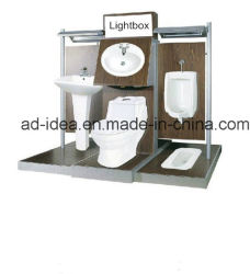 Bathroom 한 벌 Promotion를 위한 Acg-56 Supermarket 또는 상점 Retail Metal Display