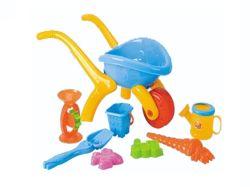 Летние дети играют Установить пластиковую песчаный пляж игрушка (H1336087)