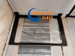 La porte du four à micro-ondes en verre trempé