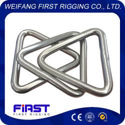 Hardware da marinha e ajustagem triângulo em aço inoxidável de hardware com a barra transversal do anel