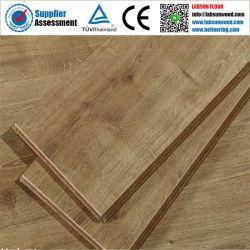 7mm 8mm 12mm étanche gaufré E1 de matériaux de construction des planchers laminés