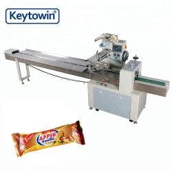 Gemaakt in Type van Hoofdkussen van China het Automatische van het Maken van Koekje met de Machine van de Verpakking van het Voedsel van de Stroom