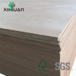La madera de álamo de la hoja de abedul cara Core para cocina