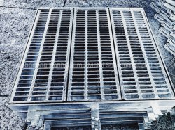 GU Gully Grate Hot DIP Galvanized Steel Grating Trench Cover 배수