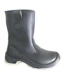 Stivali High Cut in pelle d'azione invernali con stivali di sicurezza in lana Ax03100