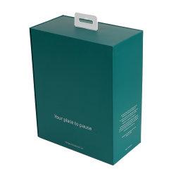 Carte de fond automatique cas casque PC d'emballage des boîtes d'emballage blanc Logo personnalisé