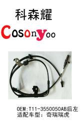 Alquiler de sensor de velocidad de rueda del sensor ABS Car Parts Autopartes T11-3550050ab Chery Rui Tiger a la izquierda. T11-3550050ab