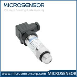 Sensor MPM489 van de Druk van de Tank van het Water 4~20mADC van de maat Piezoresistive Vloeibare Hydraulische Aangepaste