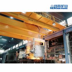 320 80t для стальных металлургических заводов и практикум накладных литейного крана мостового крана литой детали