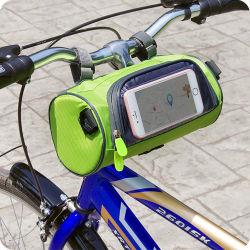 Tela de Toque transparente tubo dianteiro da estrutura de bicicletas Bolsa Saco para pendurar