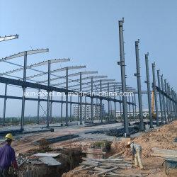 Acero prefabricados edificios enmarcados cobertizo de almacenamiento de acero estructural