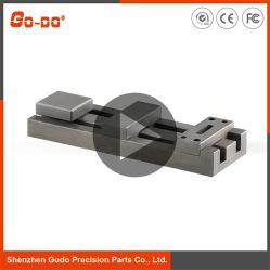 Maschinell bearbeitender CNC/bearbeiteten/der Maschinerie-Teil, Verriegelungs-Verschluss-Plastikform-Bauteile Soem-JIS maschinell