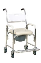 2020 Transferência de paciente Commode Dobrável multifunções com cadeira de rodas