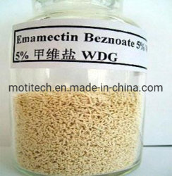 Benzoate van Emamectin van het insecticide Fabriek 95%Tc 5.7% Wdg 2.3%Ec 1%Ec
