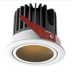 7W FOCO LED resistente al agua de baño incorporado Downlight Anti-Fog IP65 cocina ducha Habitaciones Ducha Spotlight