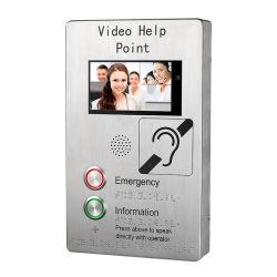 Telefono Pubblico Voip Intercom Di Emergenza A Un Pulsante Per Metro/Aeroporto/Scuola/Supermarket/Ospedale/Appartamento