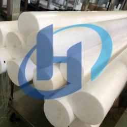 100% virgen mejor PTFE blanco de la barra de extrusión de varilla moldeado Bastón Fabricación