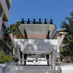 Barca di alluminio di sport di velocità del piatto della sezione comandi concentrare del fante di marina 5m di Allheart con Ce da vendere