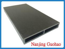 Tige en fibre de verre rectangulaire Pultruded FRP/GRP tuyau (GH J005)