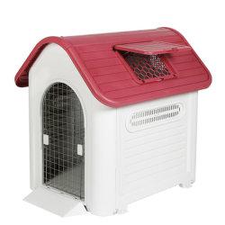 Plegable de lujo casa perro grande de plástico nuevo Outdoor