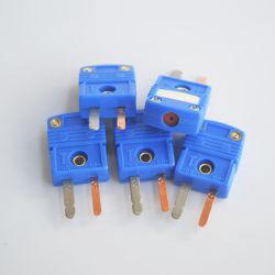 Tipo miniatura piano connettore di Pin T di termocoppia