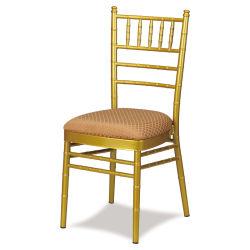 La parte superior del hotel Mobiliario de metal muebles banquete de bodas Napoleón sillas