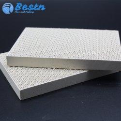Cordierite aquecedor a gás de infravermelhos de placa a placa de cerâmica 132*92*13mm