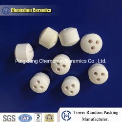 Tres orificios de cerámica alúmina catalizador transportista de Gas Natural la reforma