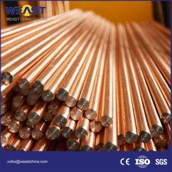 Kupfer-Geklebter Bodenrod für Erdung-System