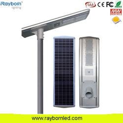 Все в одном Ламповая панель солнечной энергии на базе дороги для использования вне помещений водонепроницаемый 40W 50W 60W 70W 80Вт Светодиодные уличного освещения