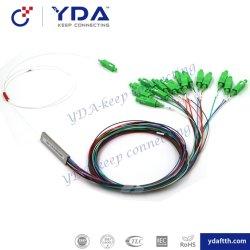 De mini Koppeling van de Kabel van de Vezel van de Koppeling van de Splitser van de Buis van het Type/van de Vezel Optische