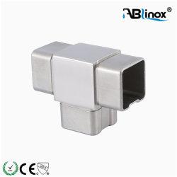 Gomito quadrato del connettore del tubo dell'acciaio inossidabile 40X40mm con il modo 3