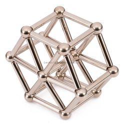 36 PCS 4*23mm Rob el imán de neodimio Imanes de las barras y bolas de acero de 8mm juguete magnético