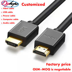 1080P 4K 8K (60Hz) High Speed HDMI Cable/VGA Cable/Connector Cable