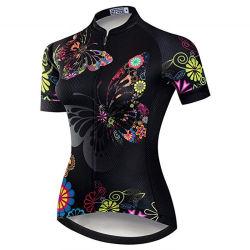 Les femmes Cyclisme Tee-Shirt Short Sleeve Mountain Road Bike Vêtements Sport d'été Tops MTB Jersey