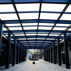 Commerce de gros préfabriqués en usine Structure en acier de construction métallique Construction d'entrepôt