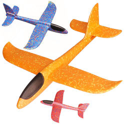 Heimy Aircraft Foam Plane Flugzeug Toy Hand Throw Flying Model Outdoor Fun Kids Toys