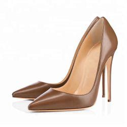 卸し売り方法セクシーな女性革服靴の女性のハイヒールの靴