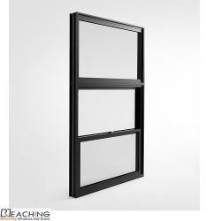 Profil en aluminium de l'Australie Fenêtre unique standard en aluminium Hung revêtement poudre