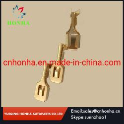 Borne de connecteur électrique en laiton pour le faisceau de fils DJ621-B6.3A