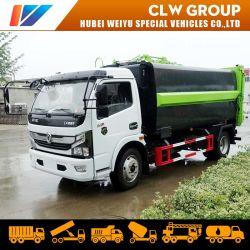 Dongfeng 6cbm/7cbm/8cbm hydraulischer Laden-Abfall-LKW-Seiten-Ladevorrichtungs-Abfall-LKW